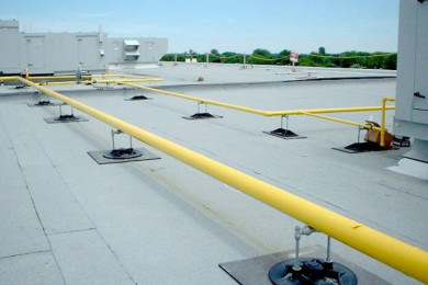 gas-piping-roof-top